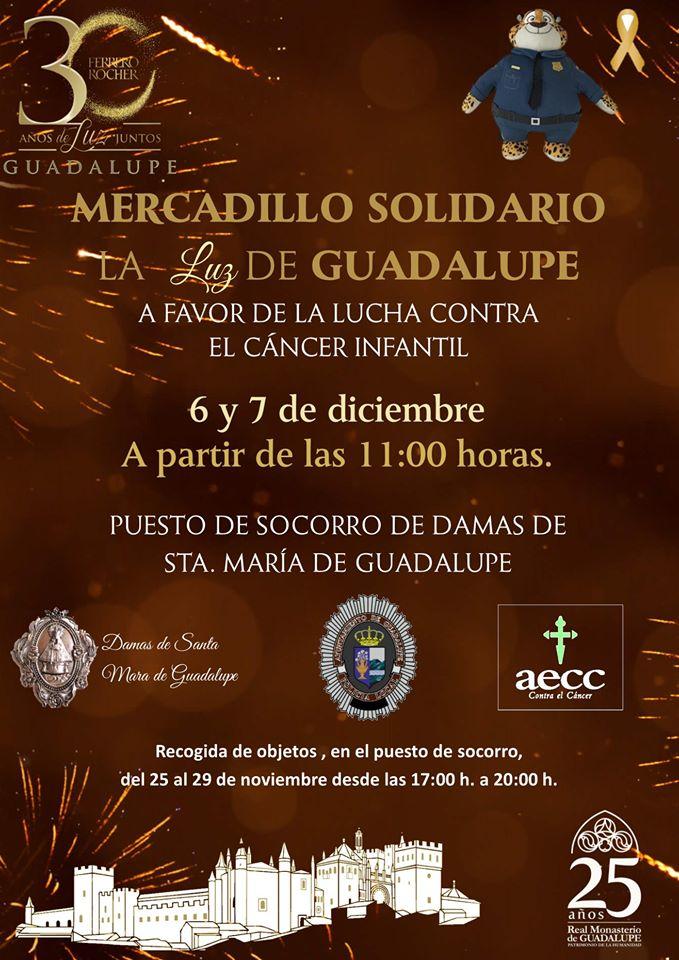 Mercadillo solidario 2019 - Guadalupe (Cáceres)