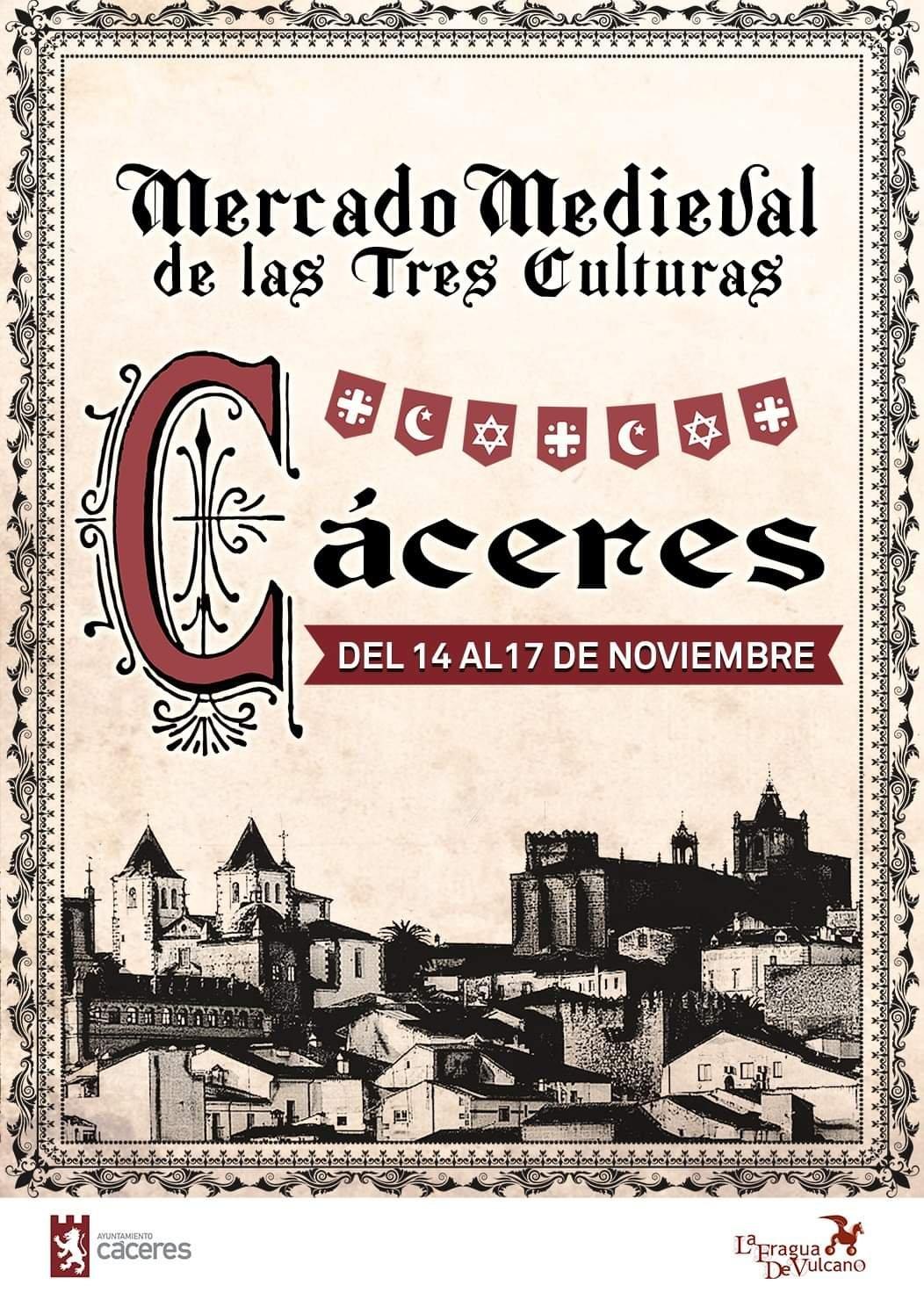 Mercado medieval de las tres culturas 2019 - Cáceres