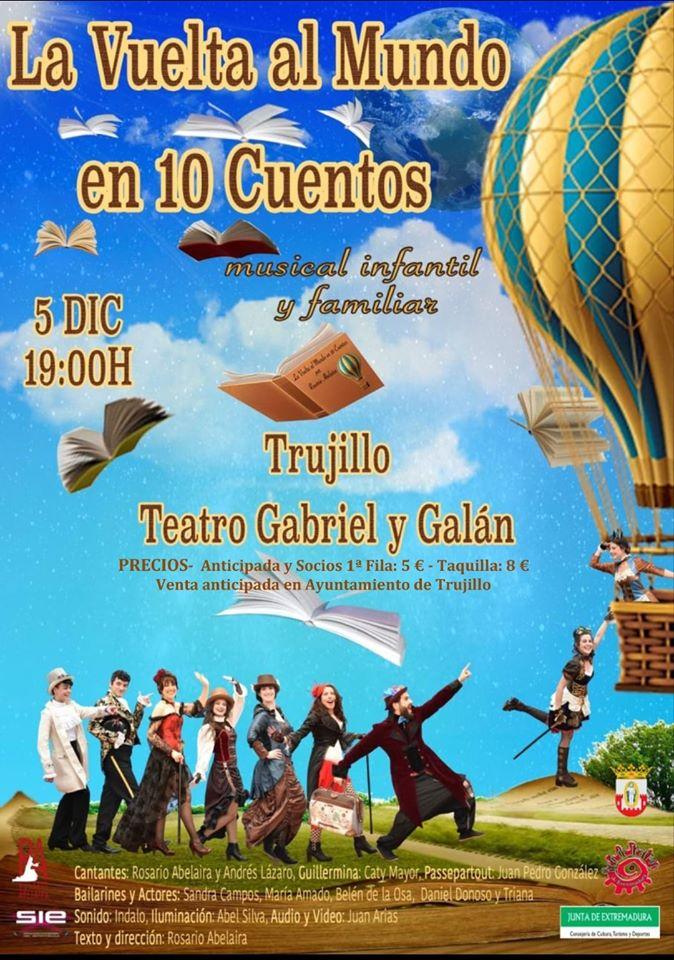 Musical La vuelta al mundo en 10 cuentos 2019 - Trujillo (Cáceres)