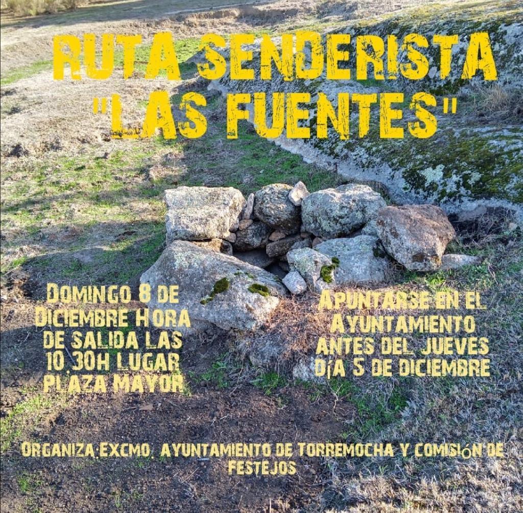 Ruta senderista Las Fuentes 2019 - Torremocha (Cáceres)