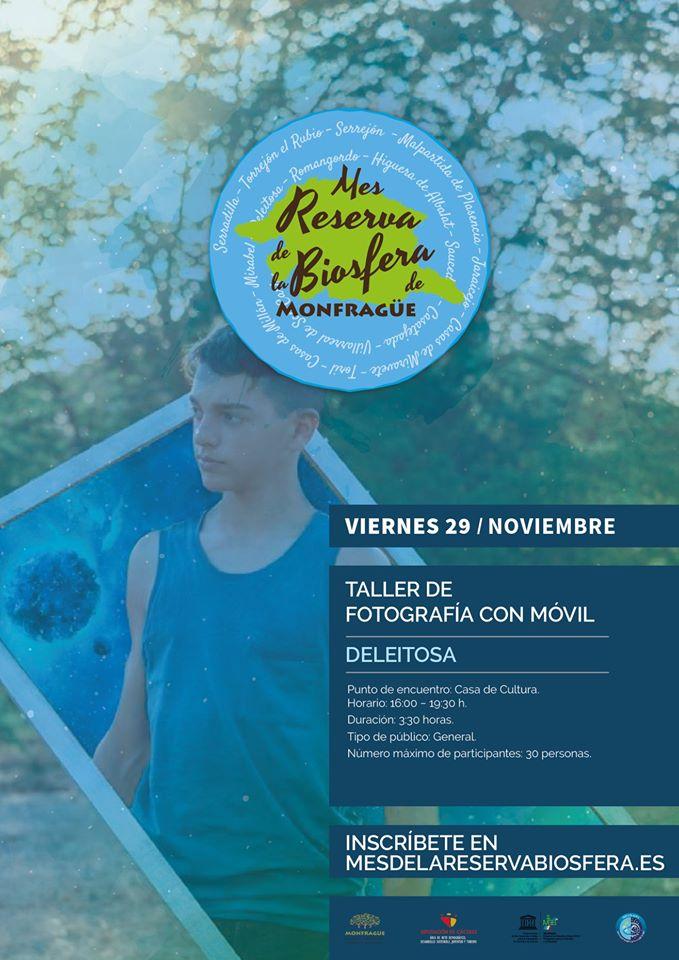 Taller de fotografía con el móvil 2019 - Deleitosa (Cáceres)