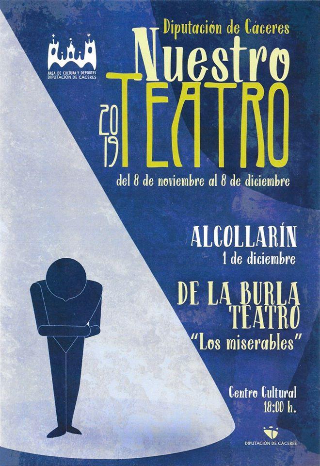 Teatro Los miserables 2019 - Alcollarín (Cáceres)