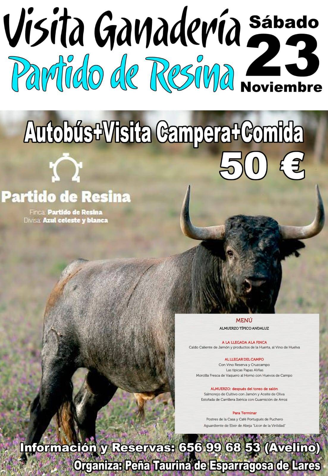 Visita a la ganadería Partido de Resina 2019 - Esparragosa de Lares (Badajoz)
