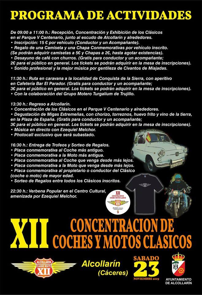 XII Concentración de coches y motos clásicos - Alcollarín (Cáceres) 2