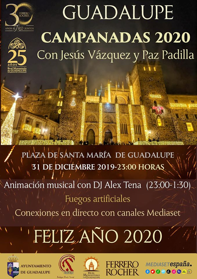 Campanadas 2020 - Guadalupe (Cáceres)