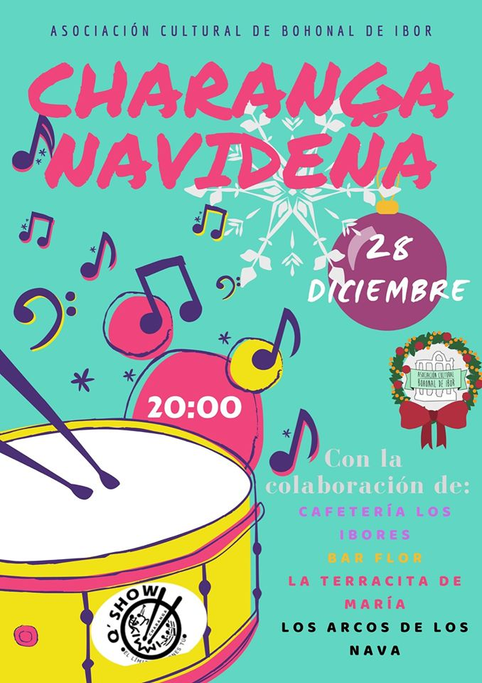 Charanga navideña 2019 - Bohonal de Ibor (Cáceres)