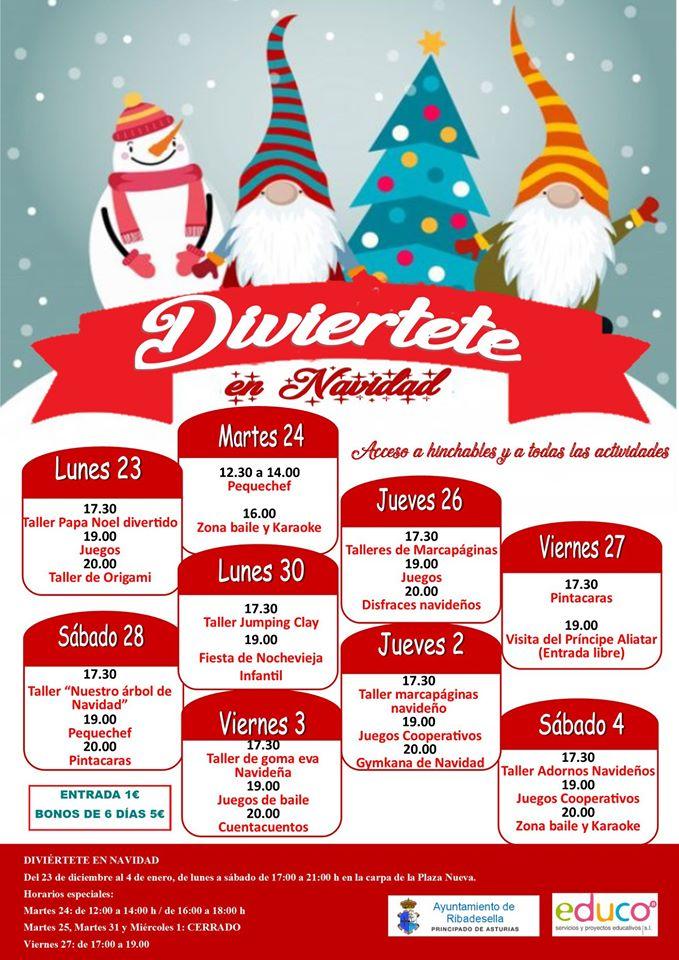 Diviértete en Navidad 2019 - Ribadesella (Asturias)