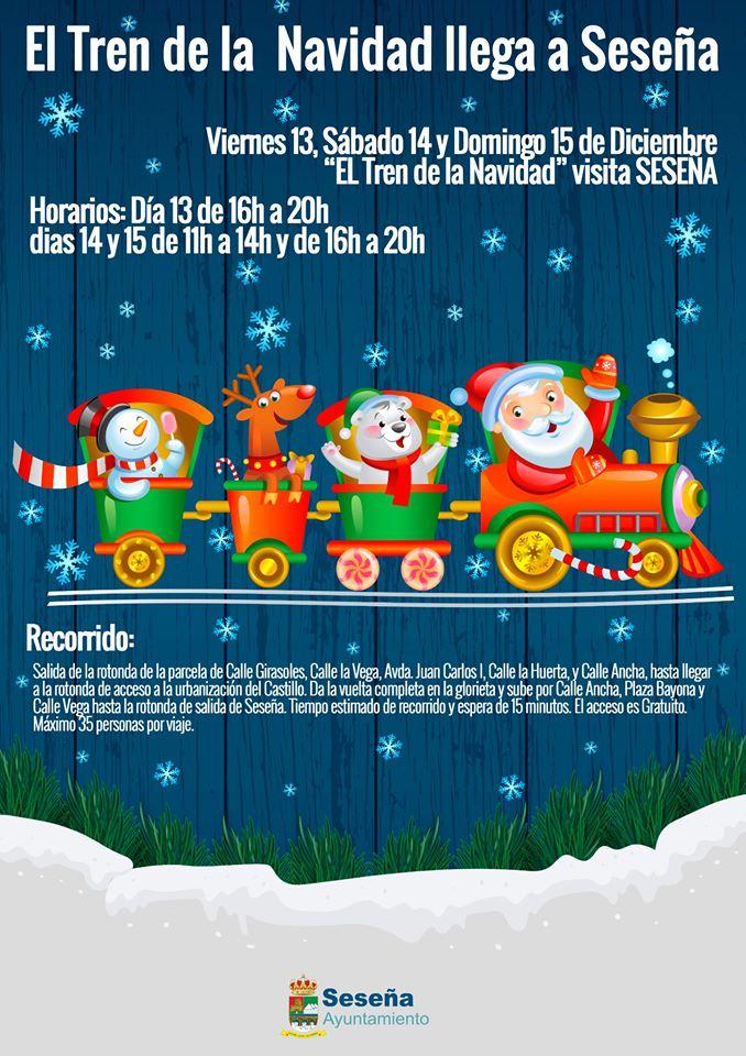 El tren de la Navidad 2019 - Seseña (Toledo)