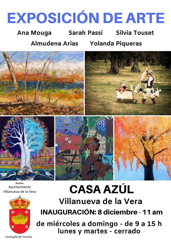 Exposición de arte 2019 - Villanueva de la Vera (Cáceres)