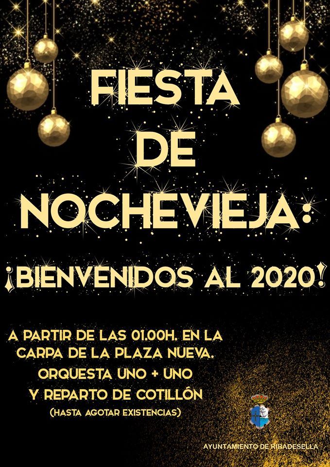 Fiesta de Nochevieja 2019 - Ribadesella (Asturias)