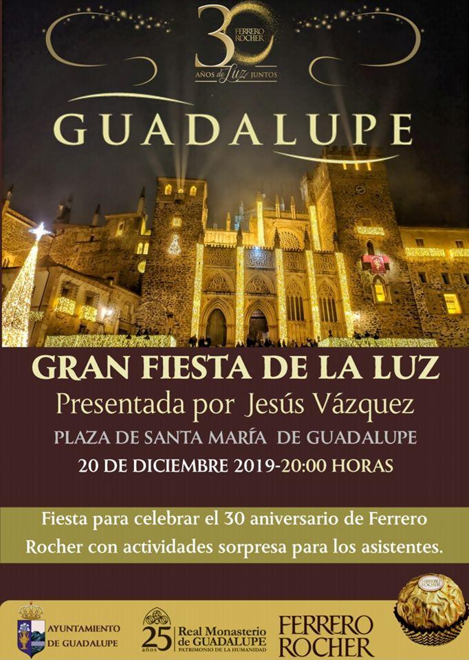 La Gran Fiesta de la Luz 2019 - Guadalupe (Cáceres)
