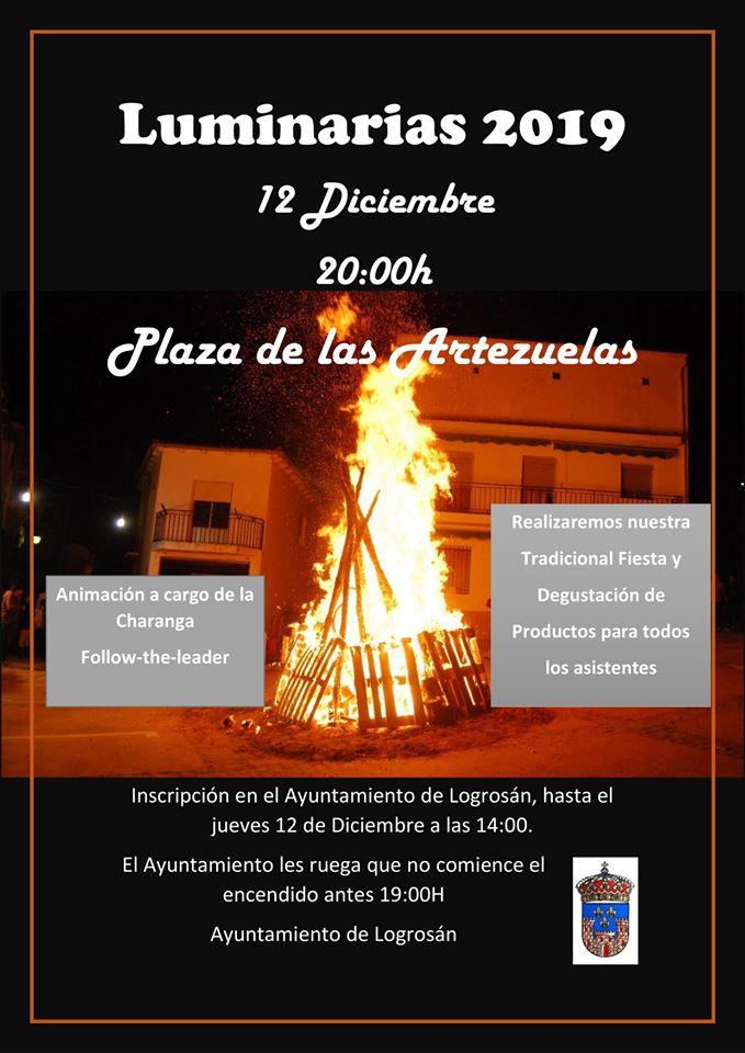 Luminarias 2019 - Logrosán (Cáceres)