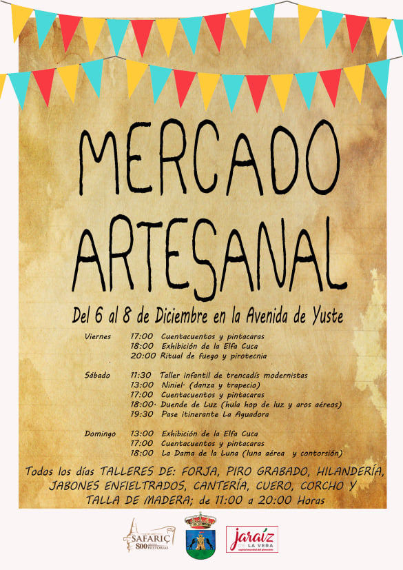 Mercado artesanal de San Andrés 2019 - Jaraíz de la Vera (Cáceres)