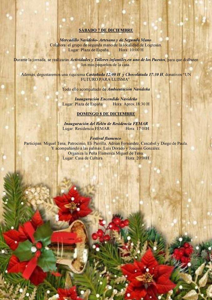 Programa navideño 2019 - Logrosán (Cáceres) 2