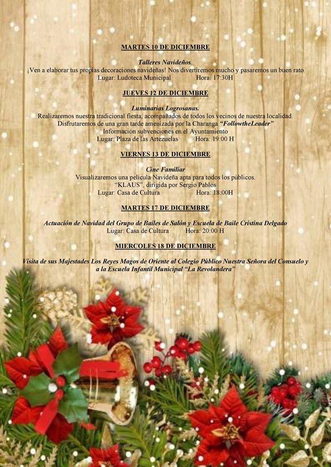 Programa navideño 2019 - Logrosán (Cáceres) 3