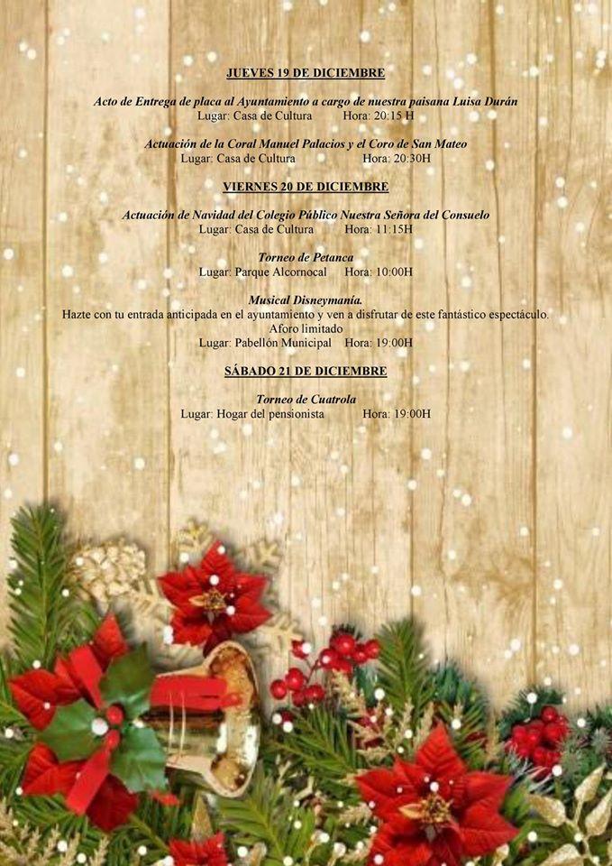 Programa navideño 2019 - Logrosán (Cáceres) 4