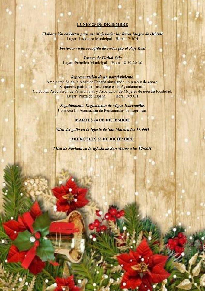 Programa navideño 2019 - Logrosán (Cáceres) 5