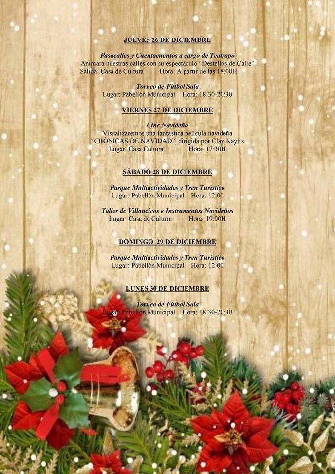 Programa navideño 2019 - Logrosán (Cáceres) 6