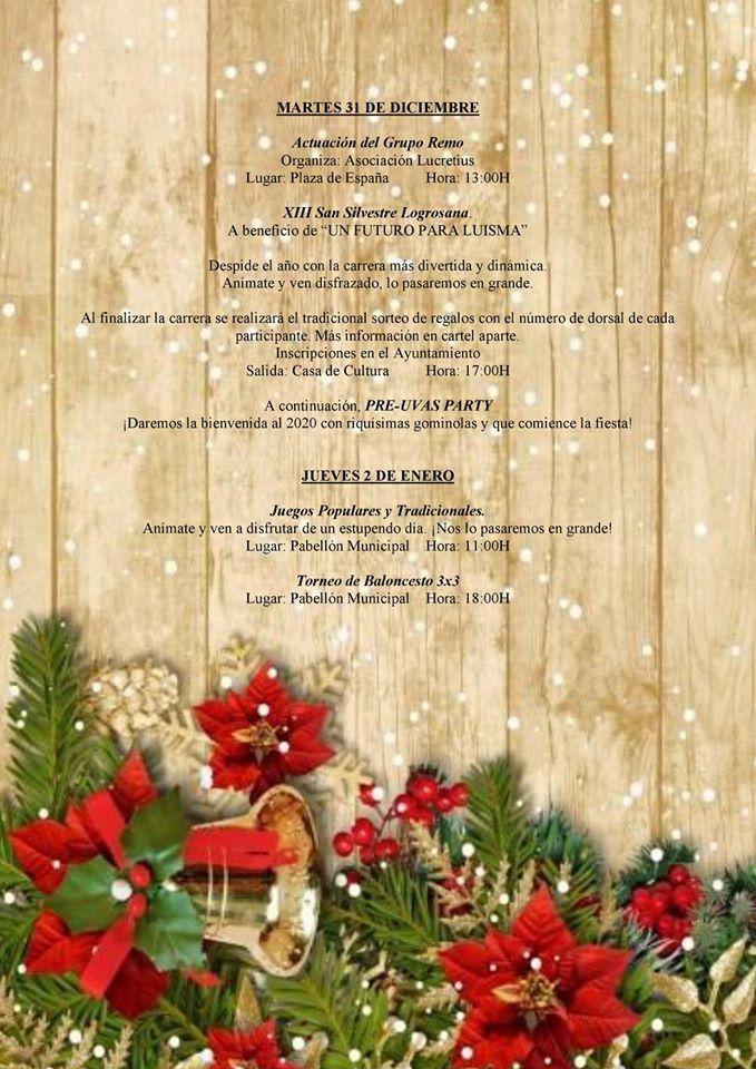 Programa navideño 2019 - Logrosán (Cáceres) 7