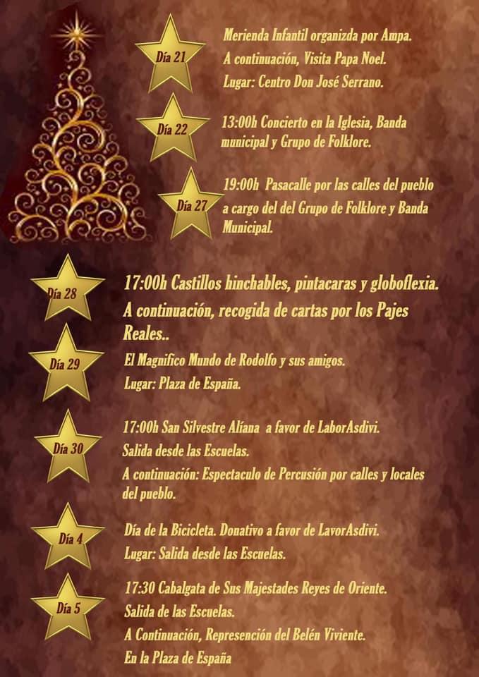 Programación de Navidad 2019-2020 - Alía (Cáceres) 3