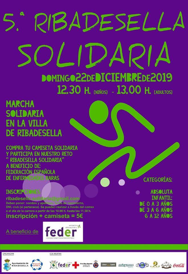 V Carrera solidaria - Ribadesella (Asturias)