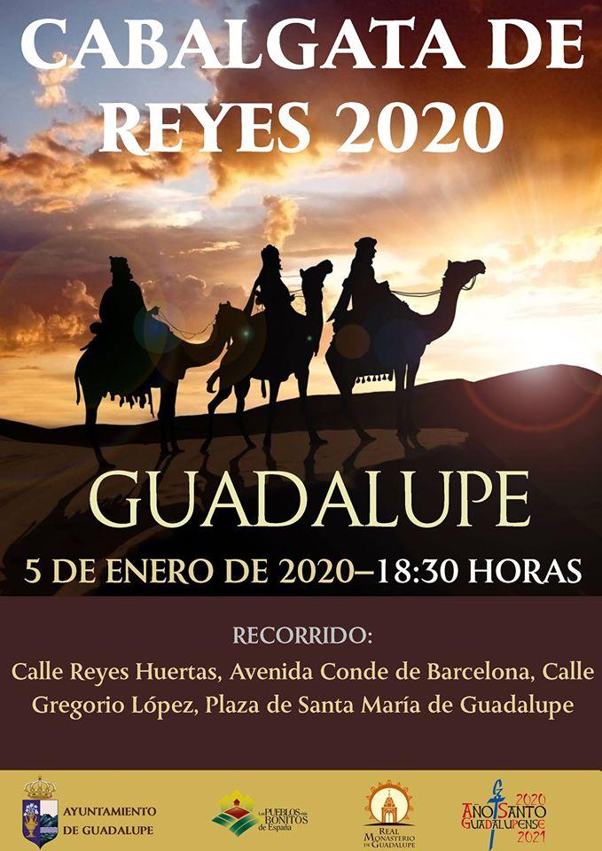 Cabalgata de Reyes 2020 - Guadalupe (Cáceres)