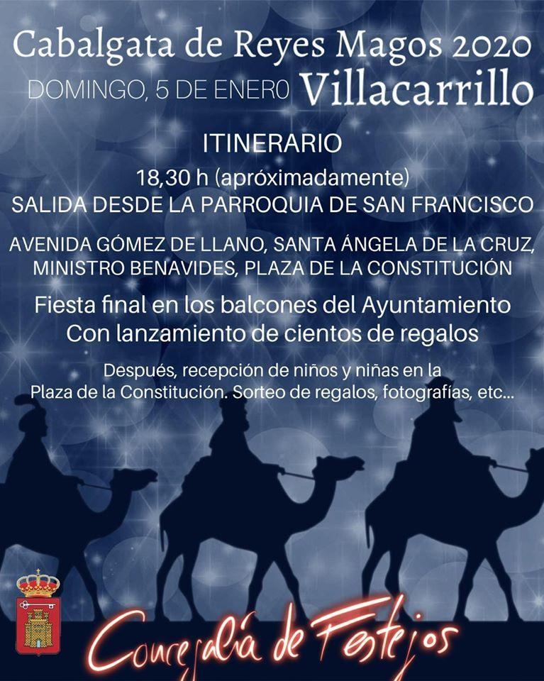 Cabalgata de Reyes Magos 2020 - Villacarrillo (Jaén)