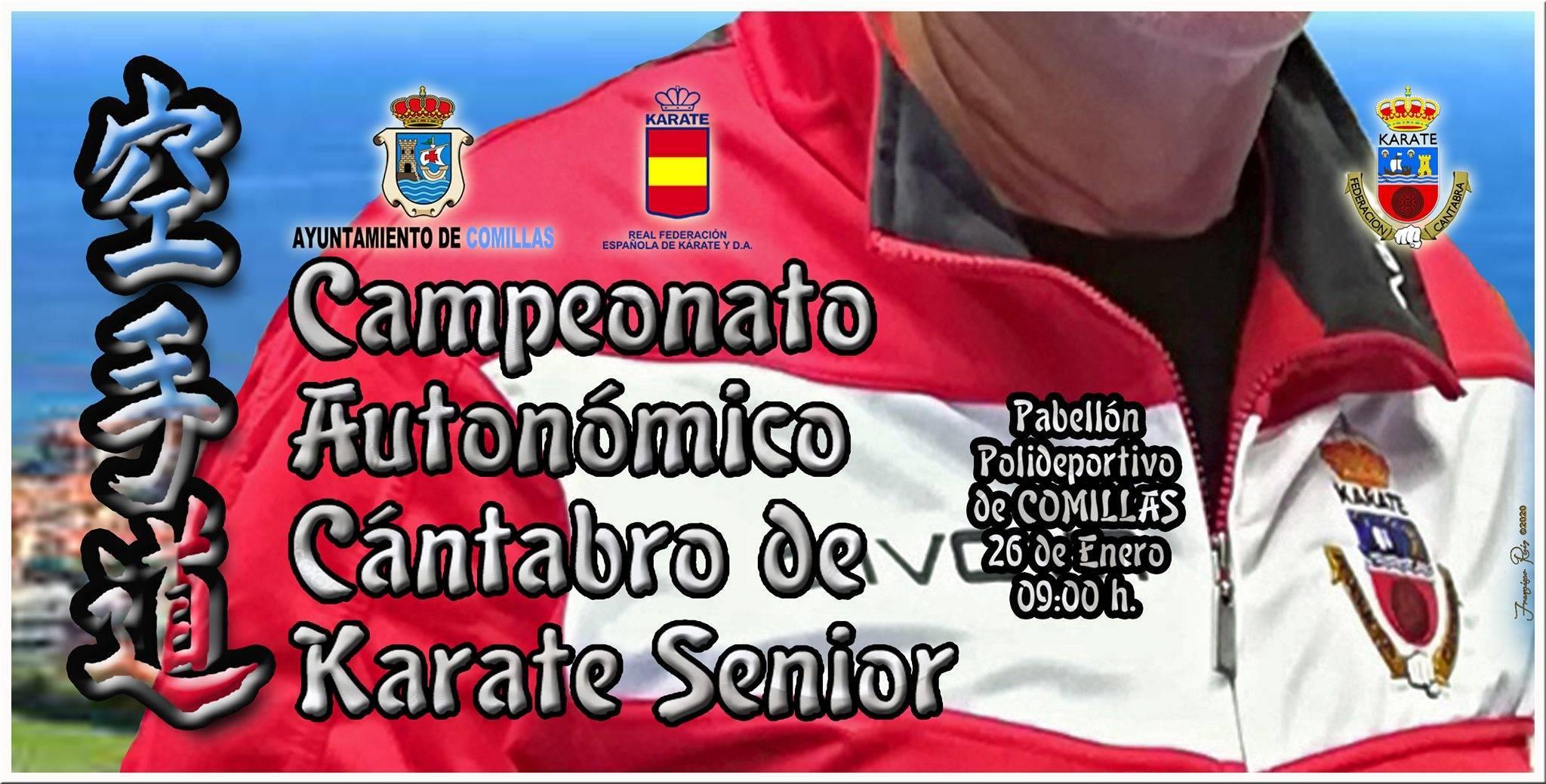 Campeonato autonómico cántabro de kárate senior 2020 - Comillas (Cantabria)