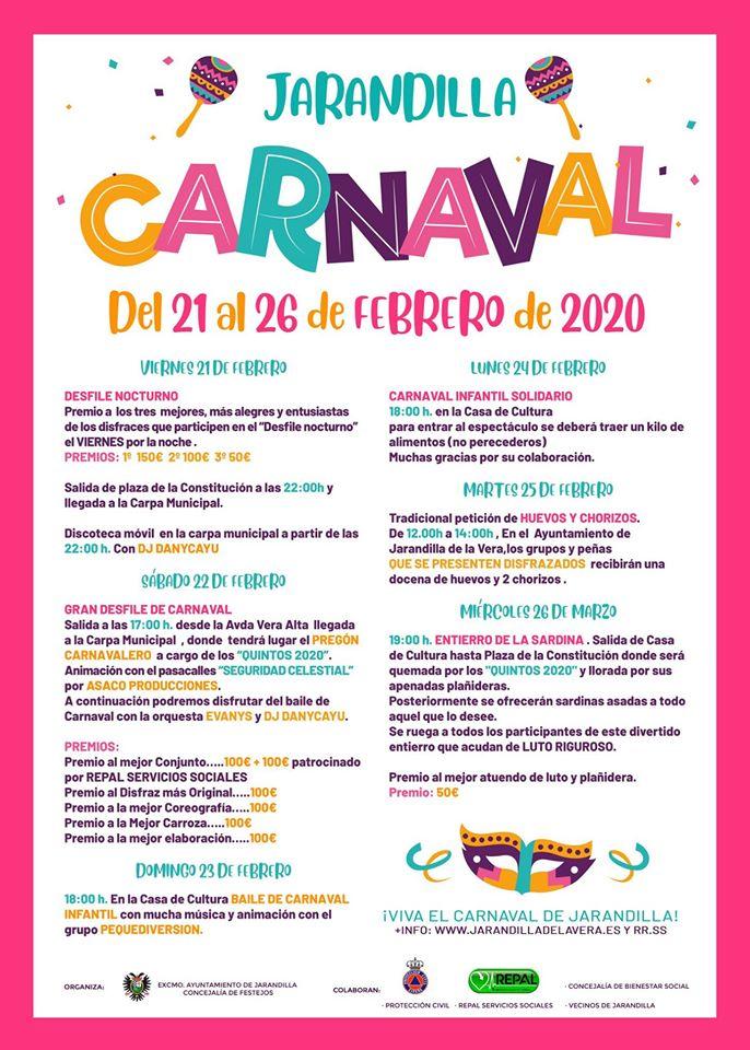 Carnaval 2020 - Jarandilla de la Vera (Cáceres) 2