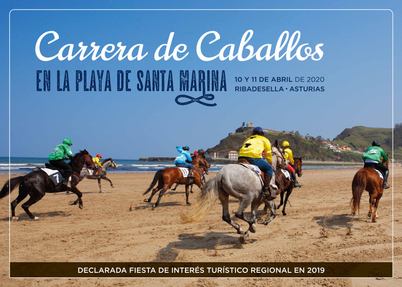 Carrera de caballos 2020 - Ribadesella (Asturias)