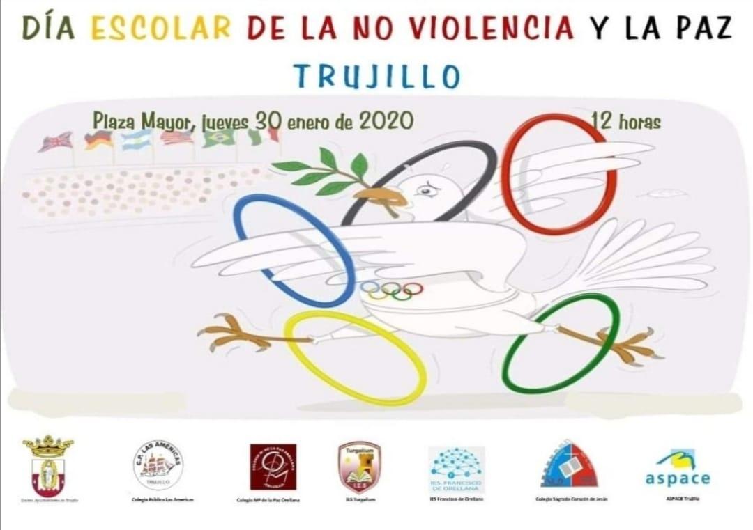 Día Escolar de la No violencia y la Paz 2020 - Trujillo (Cáceres)