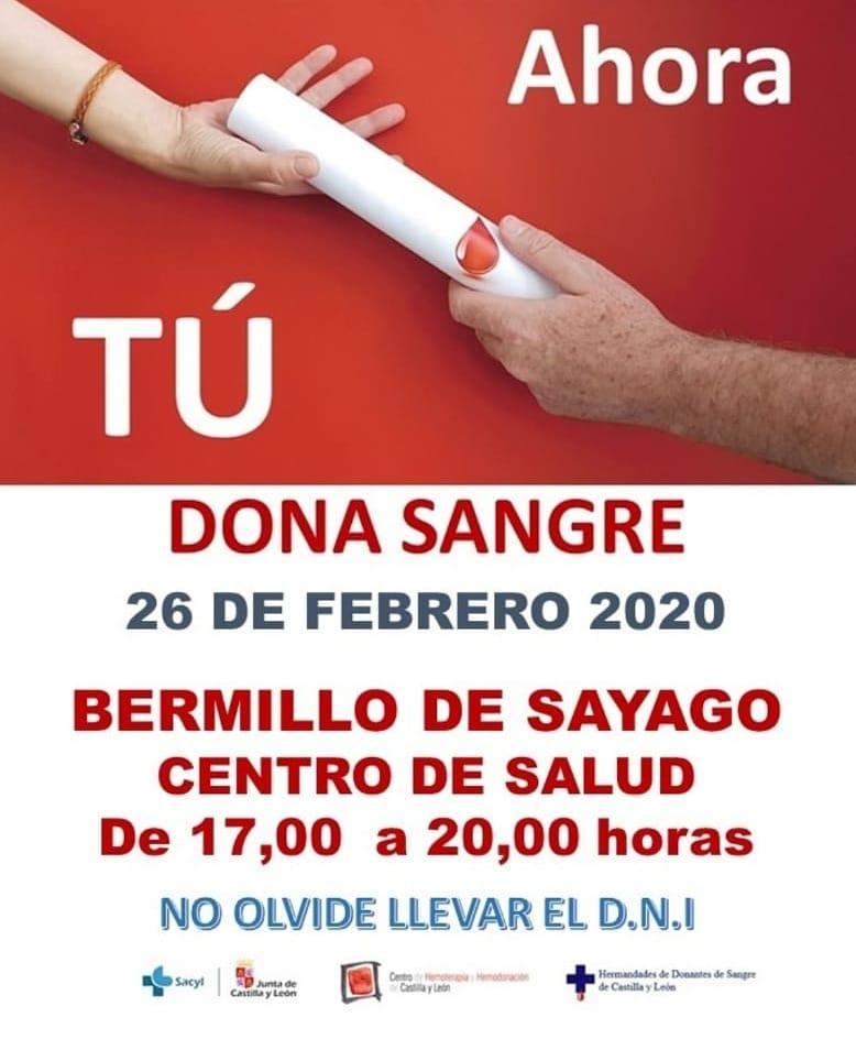 Dona sangre febrero 2020 - Bermillo de Sayago (Zamora)