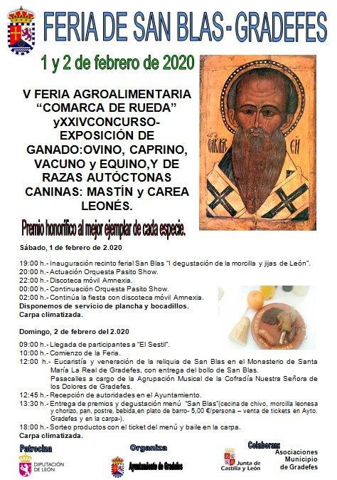 Feria de San Blas 2020 - Gradefes (León)