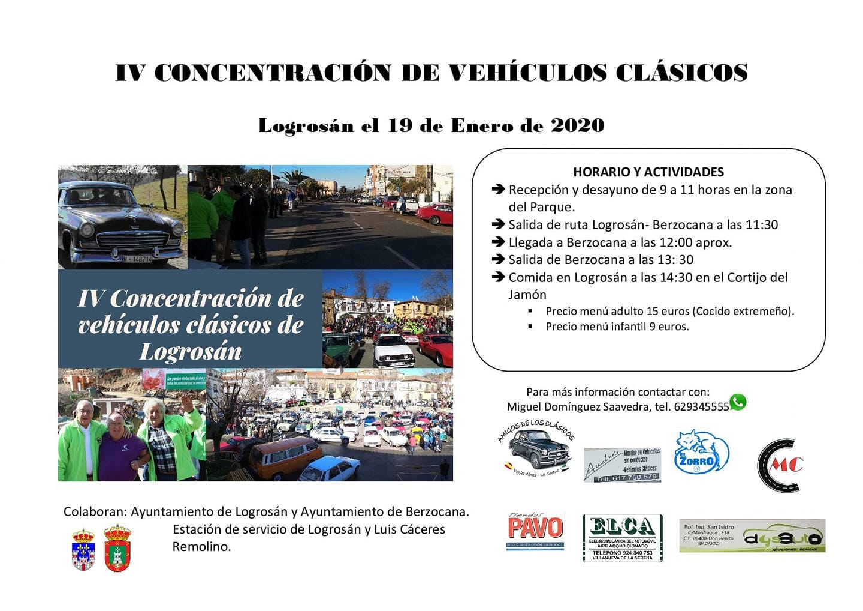 IV Concentración de vehículos clásicos - Logrosán (Cáceres)