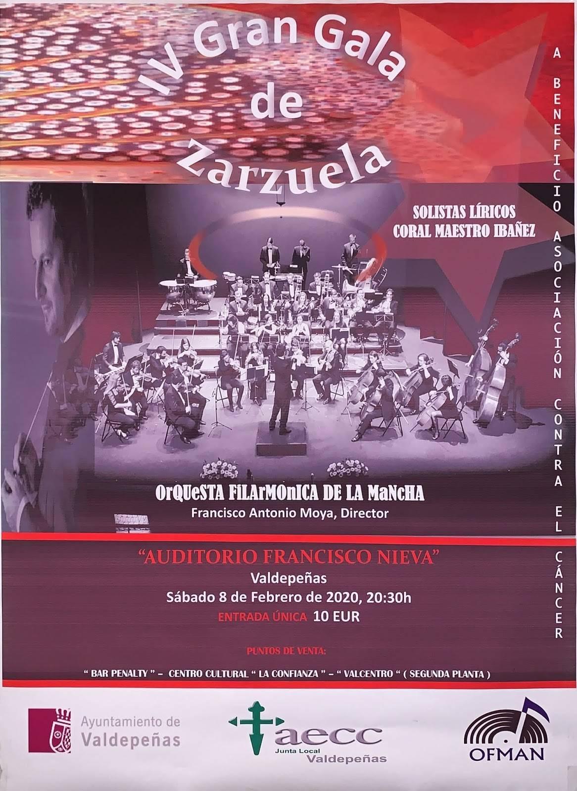 IV Gran gala de zarzuela - Valdepeñas (Ciudad Real)
