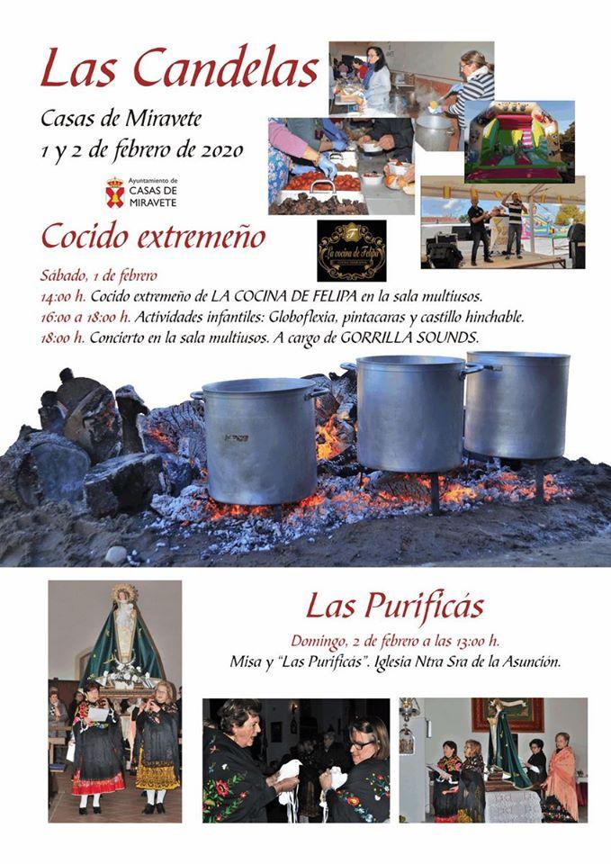 Las Candelas 2020 - Casas de Miravete (Cáceres)