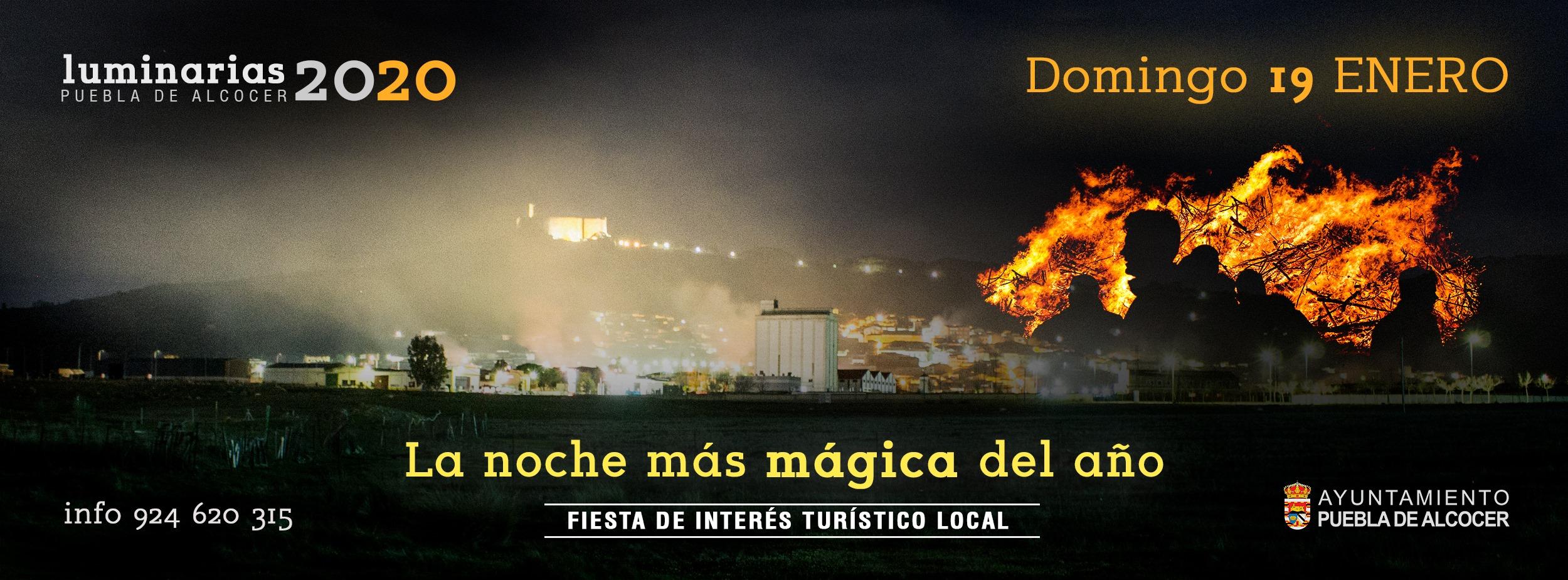 Luminarias 2020 - Puebla de Alcocer (Badajoz)