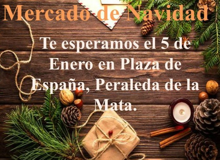 Mercado de Navidad 2020 - Peraleda de la Mata (Cáceres)