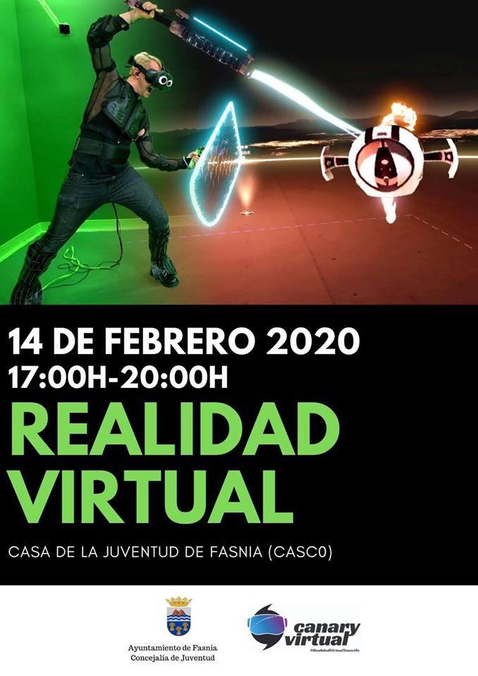 Realidad virtual febrero 2020 - Fasnia (Santa Cruz de Tenerife)