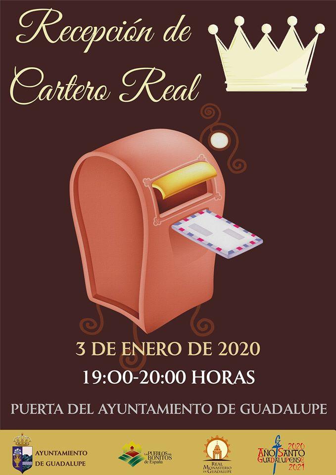 Recepción del Cartero Real 2020 - Guadalupe (Cáceres)