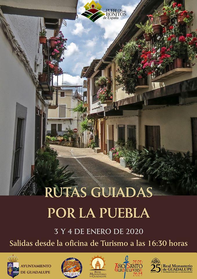 Rutas guiadas por la puebla enero 2020 - Guadalupe (Cáceres)
