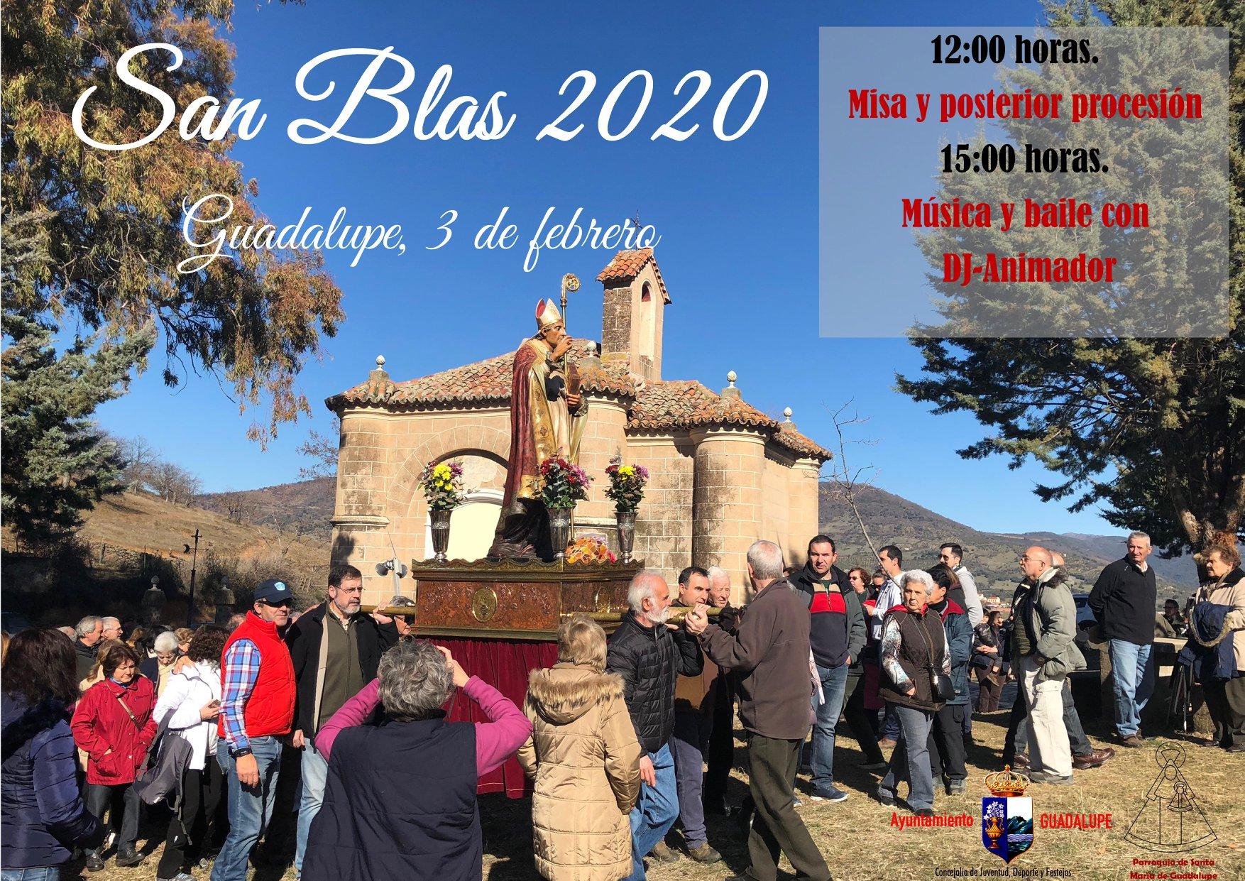 San Blas 2020 - Guadalupe (Cáceres)
