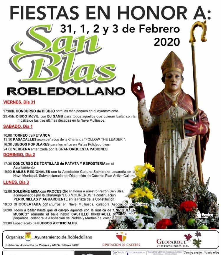San Blas 2020 - Robledollano (Cáceres)