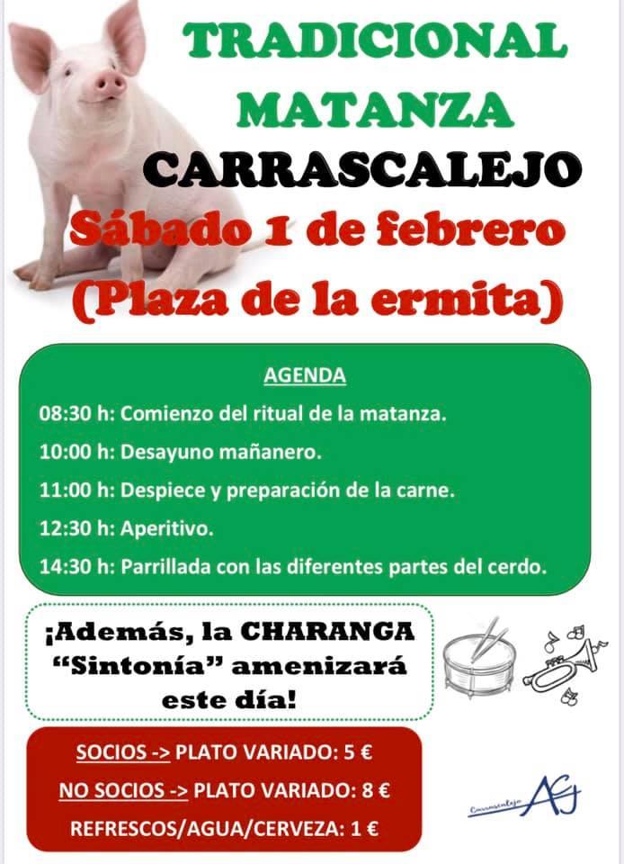 Tradicional matanza 2020 - Carrascalejo (Cáceres)