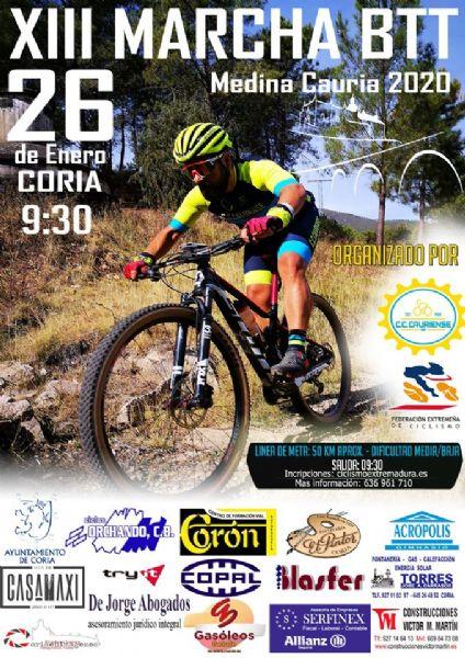 XIII Marcha BTT Medina Cauria- Coria (Cáceres)