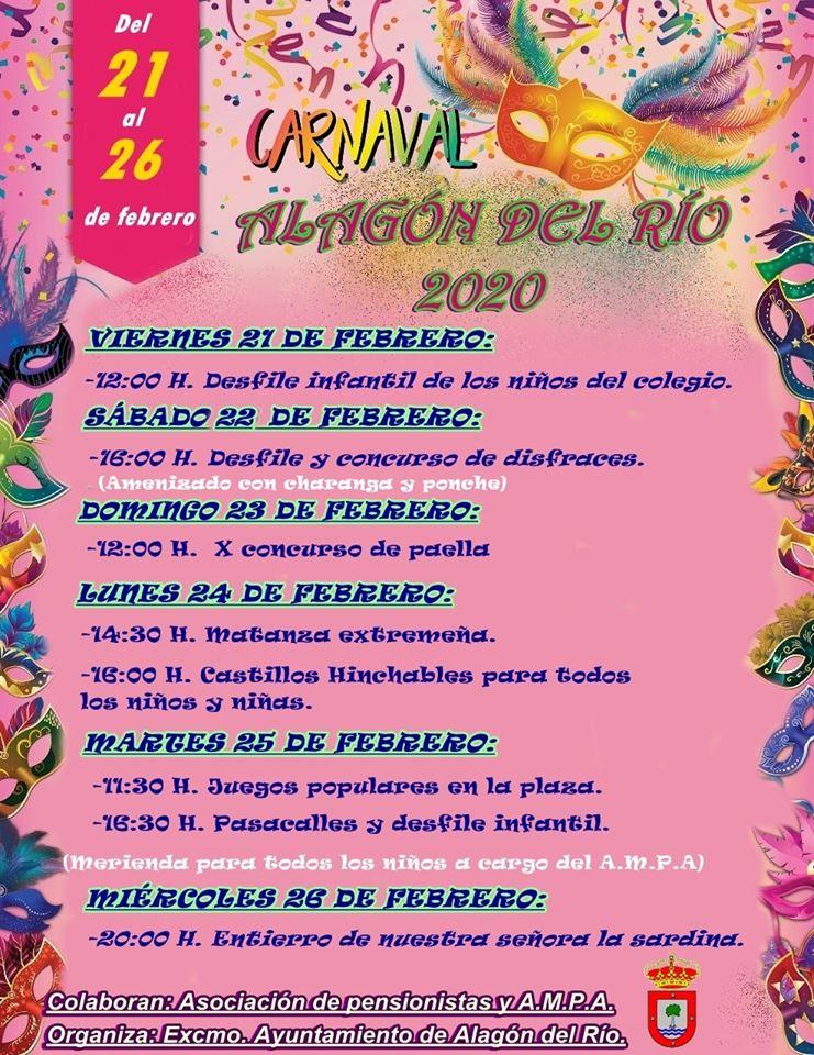 Carnaval 2020 - Alagón del Río (Cáceres)