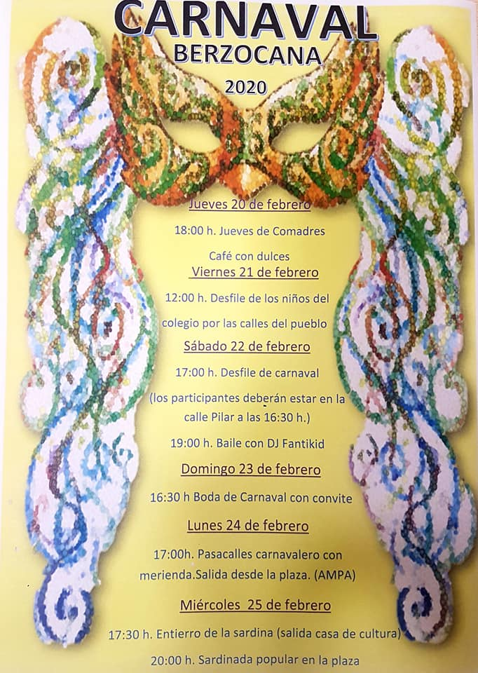 Carnaval 2020 - Berzocana (Cáceres)