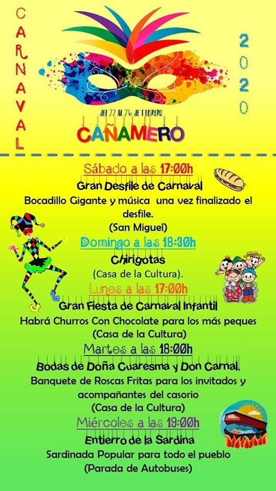 Carnaval 2020 - Cañamero (Cáceres) 1