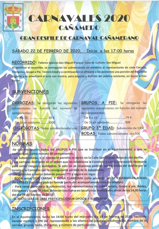 Carnaval 2020 - Cañamero (Cáceres) 2