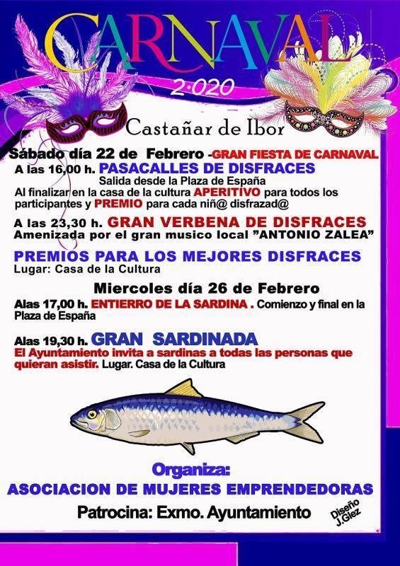 Carnaval 2020 - Castañar de Ibor (Cáceres)